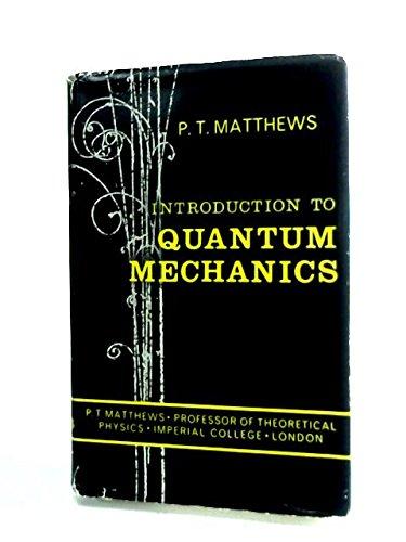 9780070940789: Introduction To Quantum Mechanics