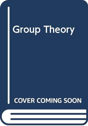 9780070940895: Group Theory