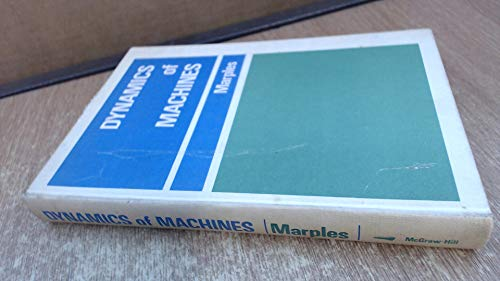 9780070940949: Dynamics of Machines (Mechanical Engineering Series)