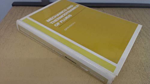 9780070941298: Mechanics and Thermodynamics of Fluids