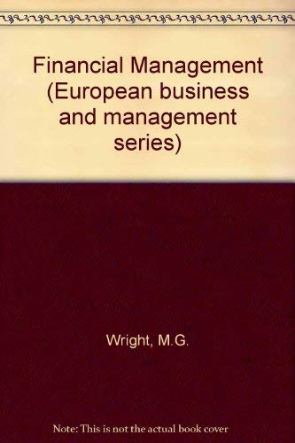 9780070941342: Financial Management (European business and management series)