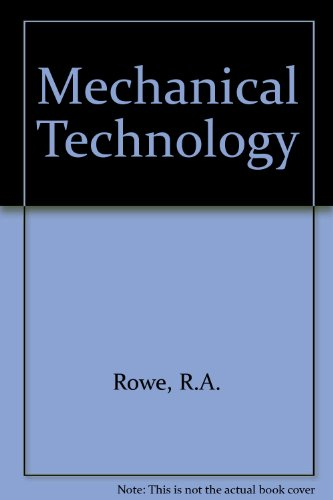 9780070941403: Mechanical Technology