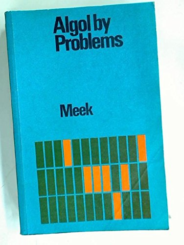 9780070941540: Algol by Problems (McGraw-Hill European computer science series)