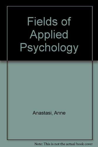 9780070941946: Fields of Applied Psychology