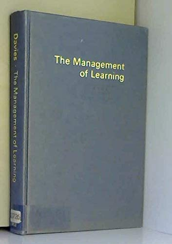The Management of Learning