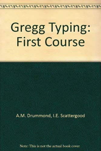 9780070942561: Gregg Typing: First Course