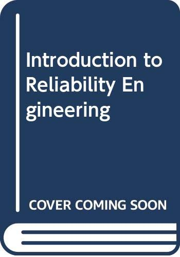 9780070942639: Introduction to Reliability Engineering (Technical education series)