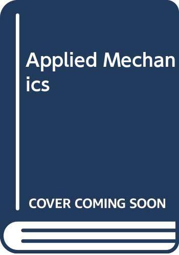 9780070942653: Applied Mechanics (McGraw-Hill technical education series)