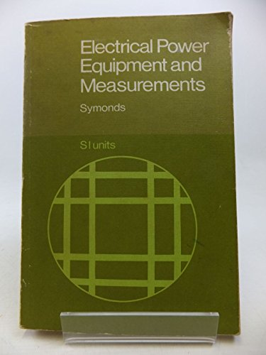 9780070942721: Electrical Power Equipment and Measurements (Technical education series)