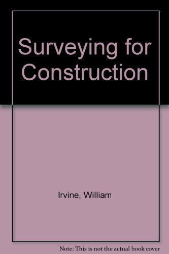 9780070942929: Surveying for Construction