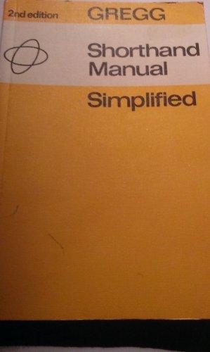Gregg Shorthand Manual Simplified: Crockett