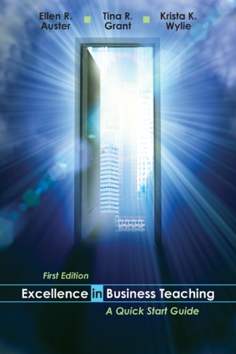 9780070945623: Excellence in Business Teaching: A Quick Start Guide