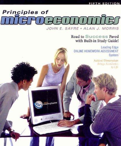 9780070946415: Principles of Microeconomics