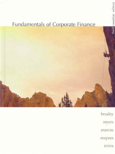 Fundamentals of Corporate Finance: Richard A Brealey,