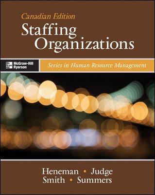 9780070948297: Staffing Organizations
