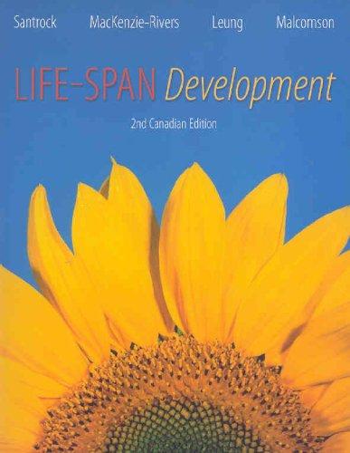 Life-Span Development, Second Edition: John W Santrock,