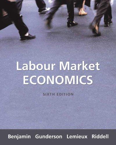 9780070949225: Labour Market Economics