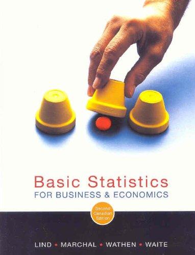 9780070951648: Basic Statistics for Business and Economics