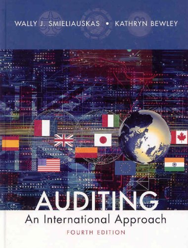 9780070951693: Auditing : An International Approach