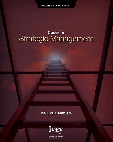 9780070951839: Cases in Strategic Management
