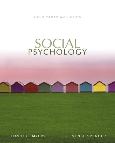 9780070952027: Social Psychology, Third Edition