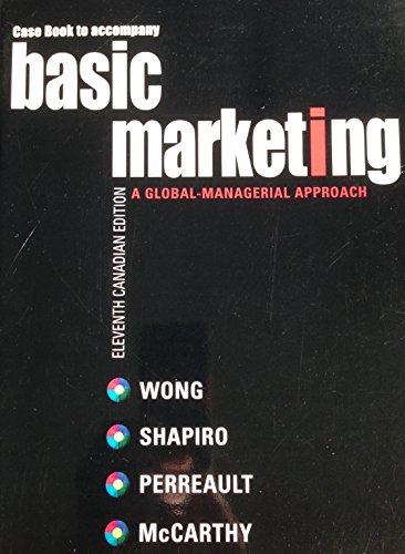 9780070952348: Basic Marketing Case Book