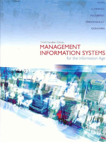 9780070955691: Management Information Systems for the Information Age, Third Edition