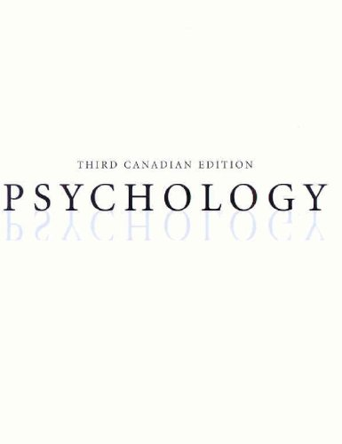 9780070955707: Psychology, Third Edition (Hardcover)