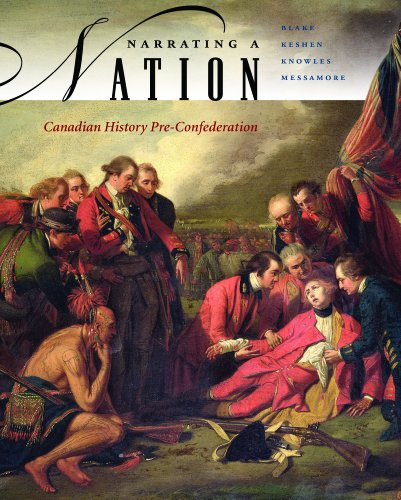 9780070956414: Narrating a Nation: Canadian History Pre-Confederation