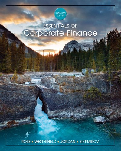 9780070956551: ESSENTIAL OF CORP.FINANCE >CANADIAN<