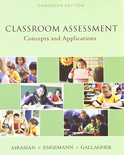 9780070959668: Classroom Assessment: Concepts and Applications