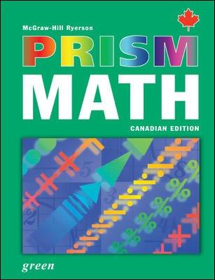 9780070960213: PRISM Math Green Student Workbook