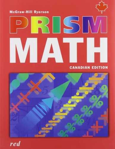 9780070960251: Prism Math Canadian Edition Red