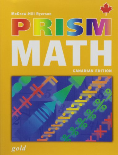 9780070960299: Prism Math Canadian Edition