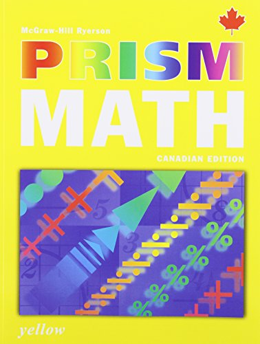 9780070960497: Prism Math Canadian Edition Yellow