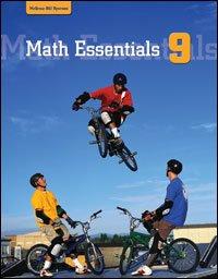 9780070961395: Math Essentials 9 Student Resource