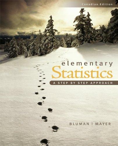 Elementary Statistics, Cdn edition: Allan Bluman, John