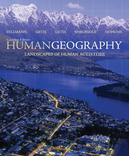 9780070963429: Human Geography: Landscapes of Human Activities (Canadian Edition)