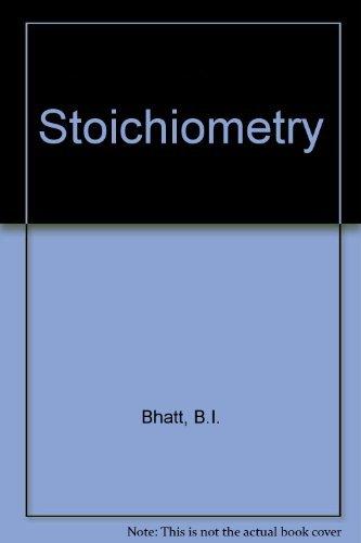 9780070964044: Stoichiometry