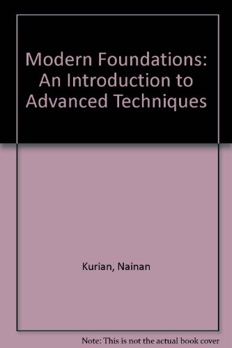 9780070964693: Modern Foundations: An Introduction to Advanced Techniques