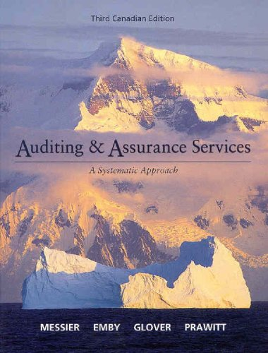 9780070964761: Auditing & Assurance Services, 3rd Edition