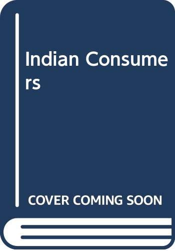 9780070965089: Indian Consumers