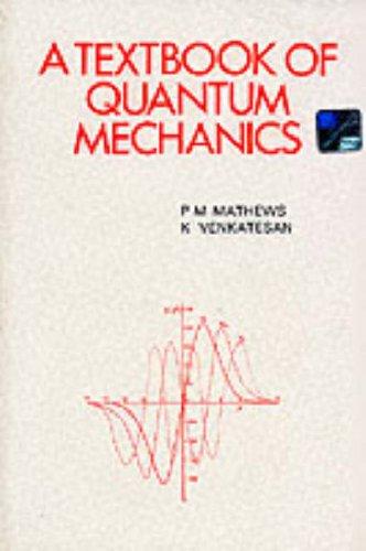 9780070965102: A Textbook of Quantum Mechanics