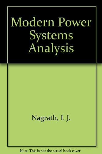 9780070965256: Modern Power Systems Analysis