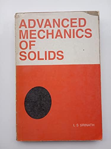 9780070965843: Advanced Mechanics of Solids
