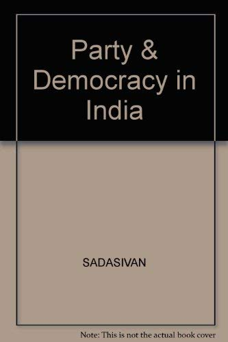 9780070965911: Party & Democracy in India