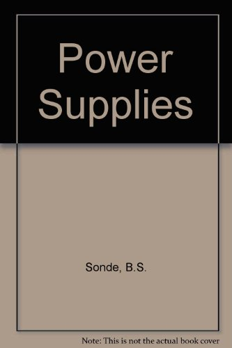 9780070966185: Power Supplies