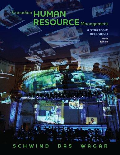 9780070967380: Canadian Human Resource Management, Ninth Edition