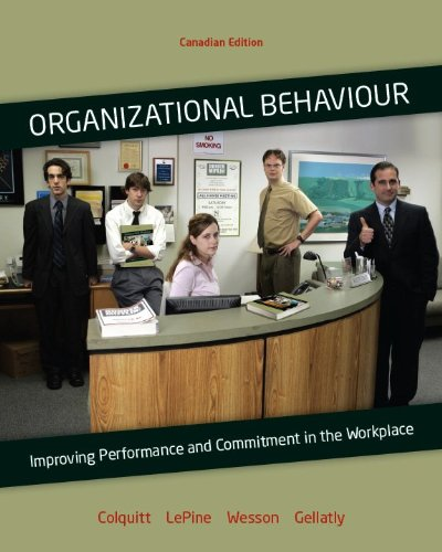 9780070967458: Organizational Behavior : Improving Performance and Commitment in the Workplace