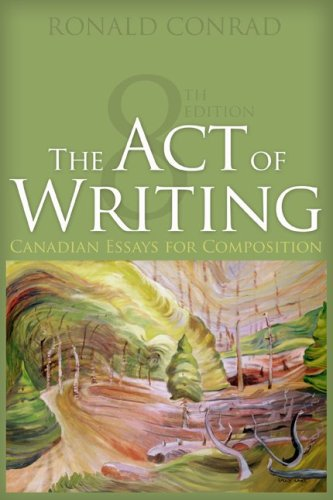9780070969292: The Act of Writing, Eighth CDN Edition